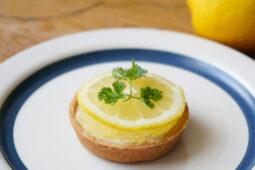 国産レモンのチーズタルト
